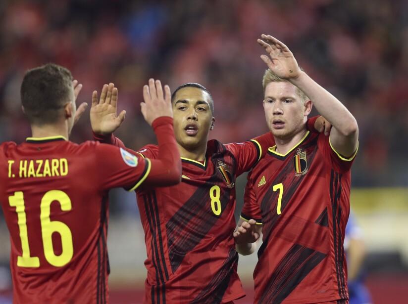 Belgium Cyprus Euro 2020 Soccer