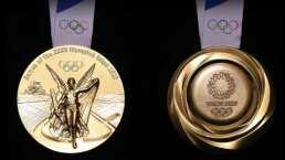 Medallas de Tokyo 2020 están hechas con teléfonos celulares