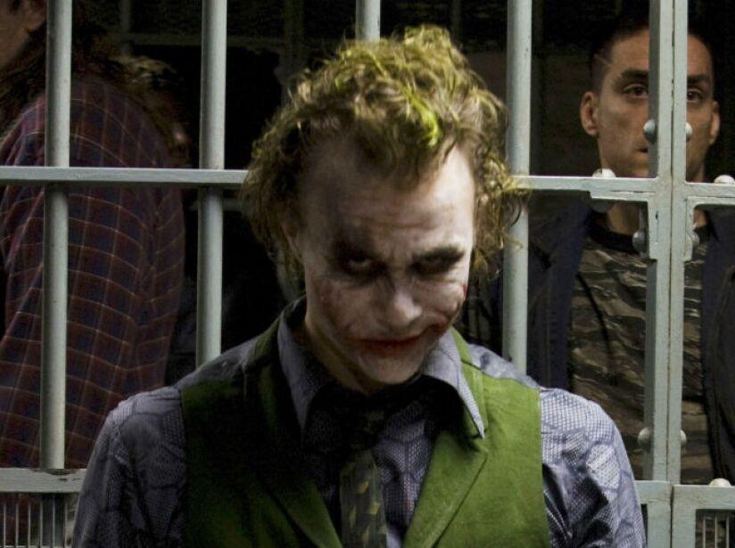 1. The Joker: Heath Ledger se consagró como el archienemigo de Batman en The Dark Knight.