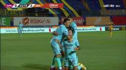 ¡Fusiló a Nahuel Guzmán! Giovanni Oliveira pone el 0-2 de Mazatlán