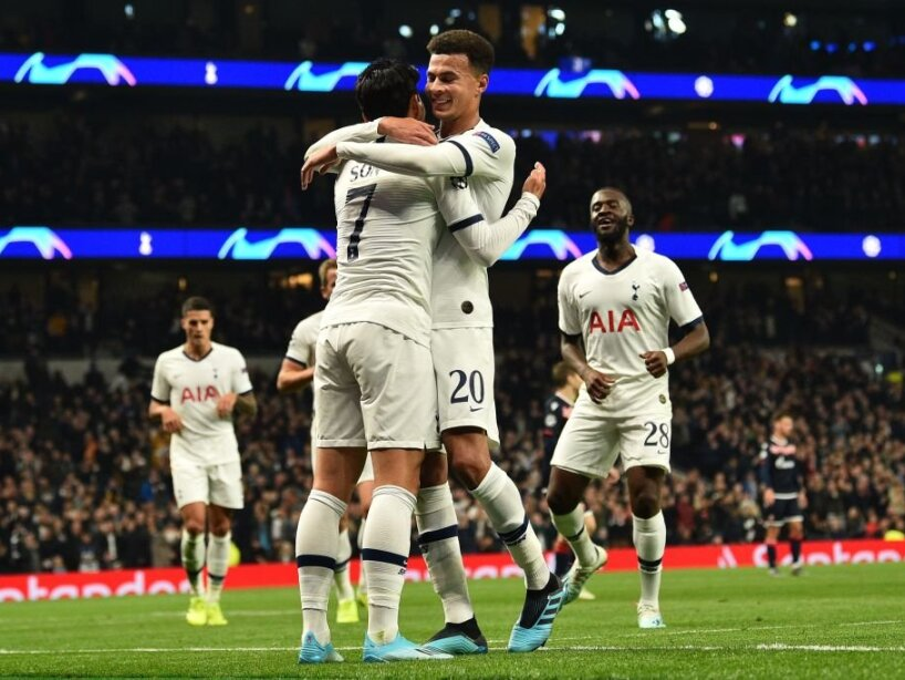 Manchester City y Tottenham anotan cinco a sus respectivos rivales.