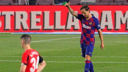 Barcelona sumó tres y se despega del Real Madrid | Los blaugranas vencieron al Athletic Bilbao por la mínima en el Camp Nou; aún no llega el ansiado 700 de Messi.
