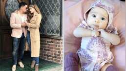 Por primera vez, Larry Hernández presume a su bebé en video para celebrar que cumple 3 meses