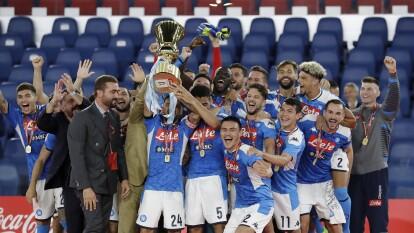 Napoli consiguió el título de la Copa Italiana luego de vencer en penales 4-2 a Cristiano Ronaldo y el resto de la Juventus.