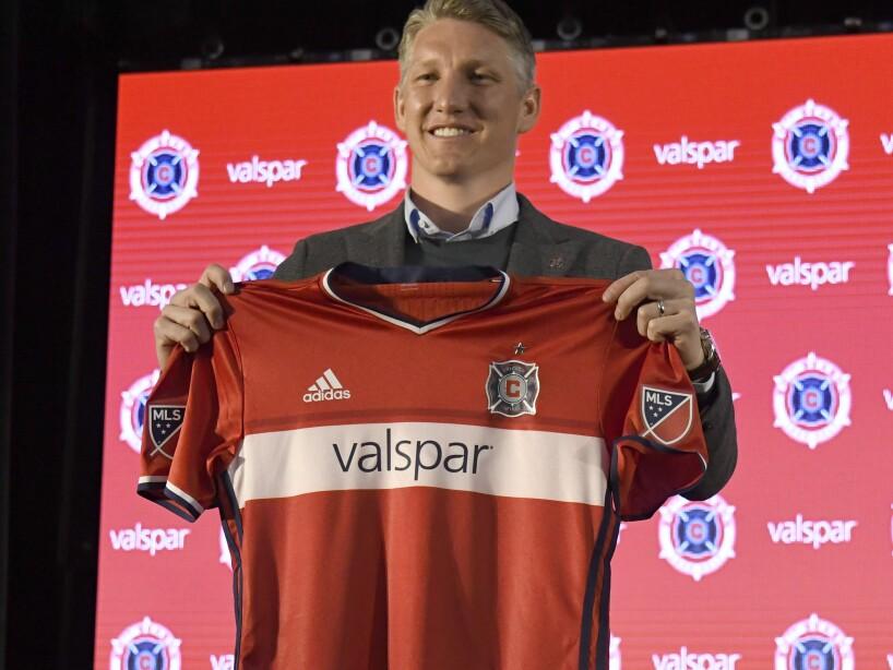 Chicago Fire Introduce Bastian Schweinsteiger