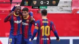 Barcelona se reivindica y vislumbra el título