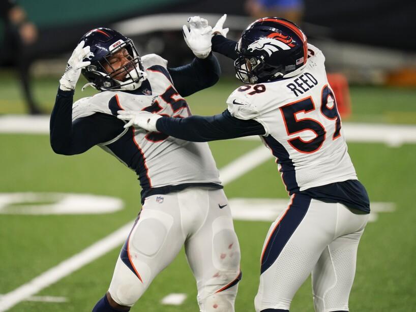 APTOPIX Broncos Jets Football