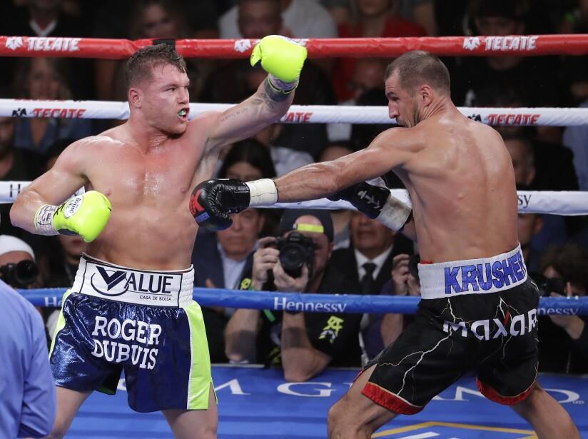 Alvarez Kovalev Boxing