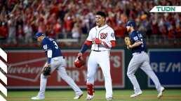 El dramático y espectacular momento del Nationals vs. Brewers