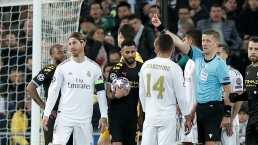 Sergio Ramos, el futbolista más expulsado de la Champions League