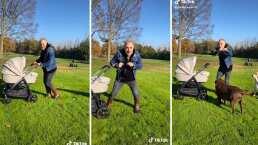 Gianluca Vacchi presume el primer baile que hizo con su hija desde su carriola