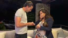 Mariana Echeverría muestra la sorprendente joya que le dio Óscar Jiménez por el nacimiento de Lucca