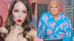 Camila Sodi se encontró con la drag Soy Letal y se maquillaron juntas