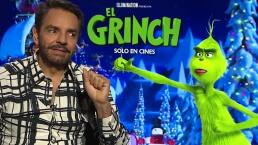 Eugenio Derbez imprime su sello en 'El Grinch'
