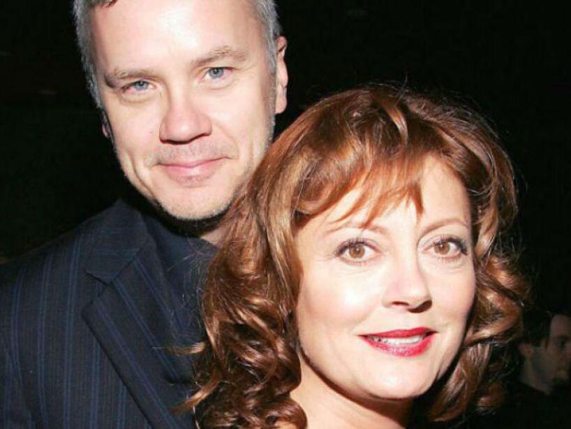 6. Susan Sarandon: Se separó del actor Tim Robbins en 2009, tras un noviazgo de 23 años. ¡Qué bárbaros!
