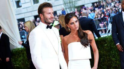 Victoria y David Beckham, pareja icónica en su país y en todo el mundo.