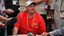 El hijo del HC de Kansas City Chiefs está involucrado en un accidente