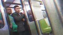 'Malcolm el del metro': ¿Te imaginas viajar así al terminar la cuarentena?