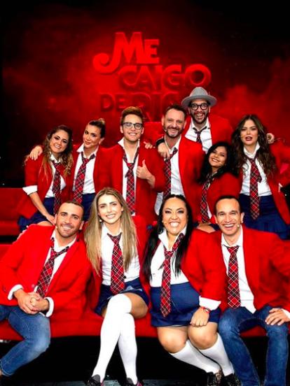 Durante la emisión más reciente de la séptima temporada de 'Me Caigo de Risa', el programa hizo un divertido homenaje a la telenovela 'Rebelde'.