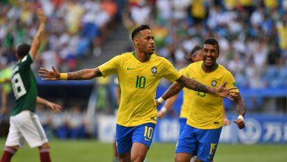 La historia se repitió con México en los Octavos de Final de la Copa del Mundo cuando Brasil los dejó fuera de Rusia 2018 con una sólida y efectiva actuación del conjunto sudamericano.