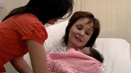 Vicky da a luz a su nieta en 'La Rosa de Guadalupe'