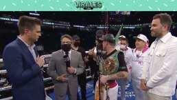 """Canelo a infiltrados en el ring: """"¡Váyanse a la chin...!"""""""