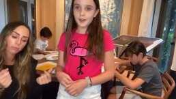 Inesita, hija de Inés Gómez Mont, sorprende con su hermosa voz al cantar éxito de Maroon 5