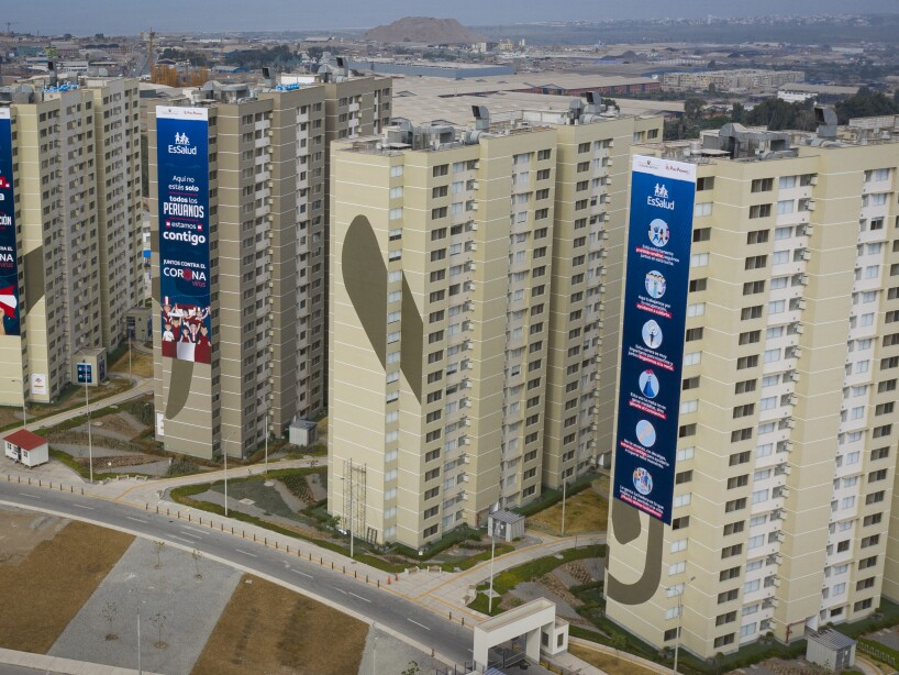 Lima 2019 Athletes' Village Houses Patients of Coronavirus