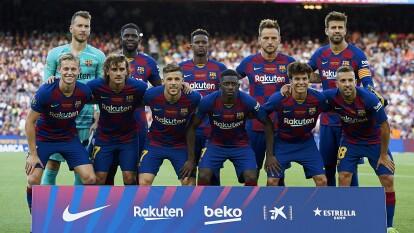 El Barcelona se presentó oficialmente en el Camp Nou ganando 2-1 al Arsenal.