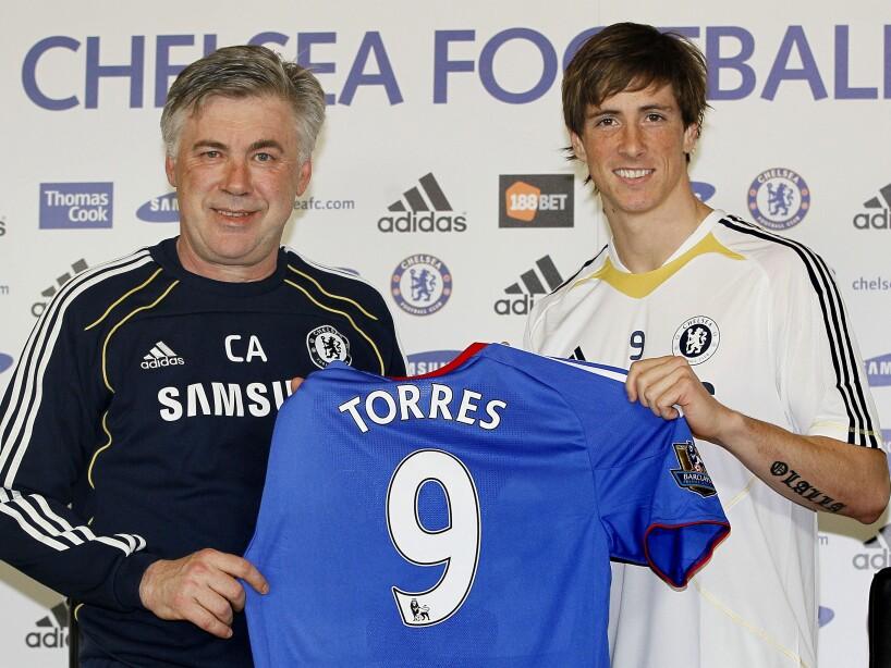 Fernando Torres, Carlo Ancelotti