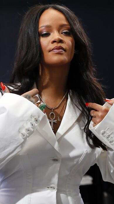 Así se ve la primera colección de ropa diseñada por Rihanna