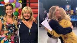 Andrea Legarreta y Magda Rodríguez se abrazan para celebrar que estarán otro año en 'Hoy'