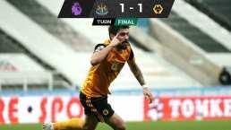 Wolverhampton rescata un punto en su visita a Newcastle