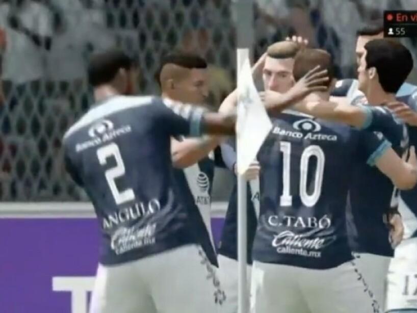 Puebla vs América, eLiga, 1.jpeg