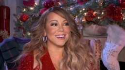 Mariah Carey también decora su autobús para tener un viaje por carretera muy navideño