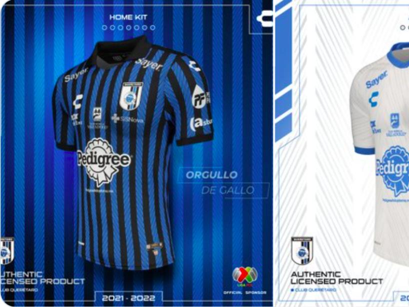 Querétaro presentó sus nuevas playeras para el Apertura 2021.