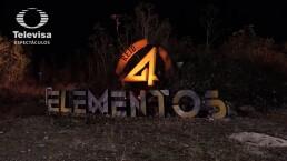 Mira el detrás de cámaras de 'Reto 4 Elementos'