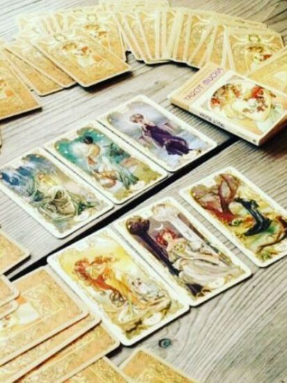 Las principales cartas del Tarot están compuestas por una parte espiritual, una terrenal y una anímica