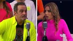 Juego exclusivo: Omar Fierro y Estefanía Ahumada retan a la risa en 'Hazme Reír'.