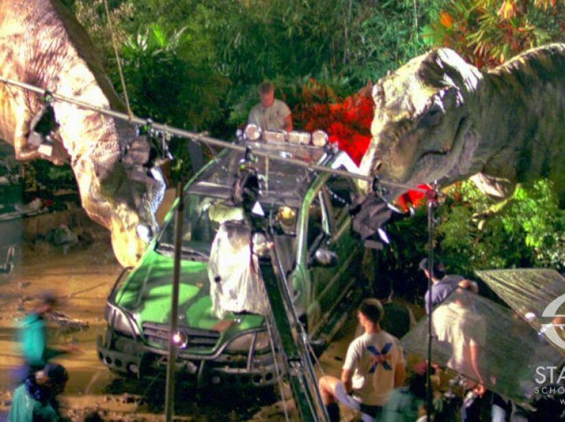 Winston y su equipo proporcionaron efectos para muchas más películas gracias a la animatrónica.