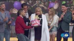 """Así festejo el elenco de """"Hoy"""" el cumpleaños de su productora Magda Rodríguez"""