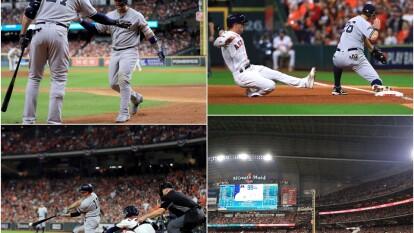 Los New York Yankees se enfrentaron a los Houston Astros en el primer juego de la Serie de Campeonato y ganaron con autoridad.
