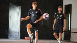 El campeón de Europa está de vuelta en los entrenamientos