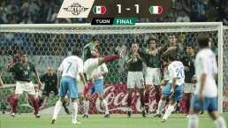 ¿El mejor gol de México? Con tanto de Borgetti se empató con Italia