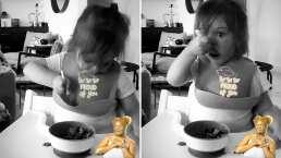 Video: Kailani ya come solita y Aislinn Derbez no puede de la emoción