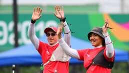 ¡Bronce para México! Alejandra Valencia y Ángel Alvarado vencen a Canadá
