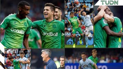 Con asistencia de Odegaard y gol de Isak, la Real Sociedad se coloca en la cima de la tabla de La Liga.