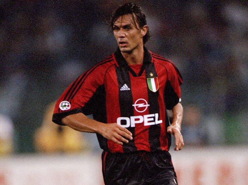 Paulo Maldini of Milan