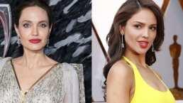 El impactante parecido entre Eiza González y Angelina Jolie como 'Maléfica'