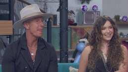 'Son mis amores, los admiro y respeto': Andrea Legarreta tras entrevistar a Mía y Erik Rubín